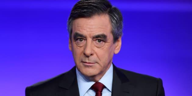 François Fillon lors du débat du 24 novembre face à Alain Juppé dans l'entre-deux-tours de la primaire de la droit et du centre. REUTERS/Eric Feferberg/Pool