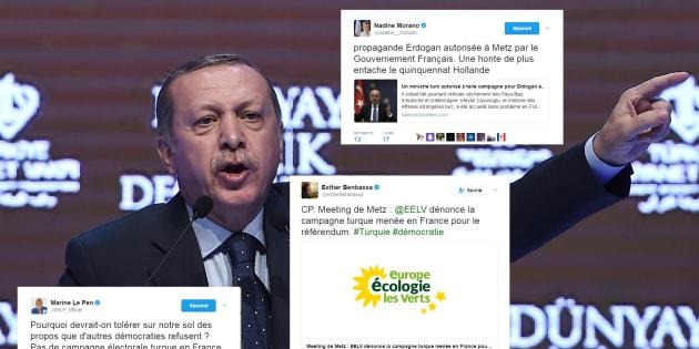 Le meeting pro-Erdogan du ministre turc en Moselle indigne la classe politique