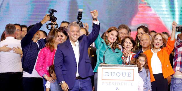 El presidente electo de Colombia, Iván Duque.