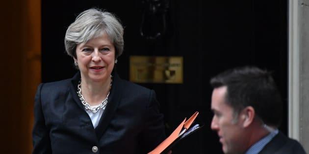 Imagen de archivo de la primera ministra británica, Theresa May.