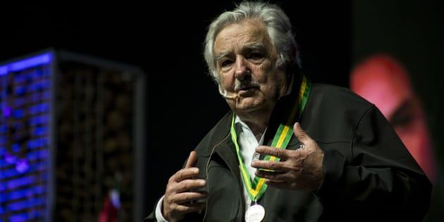 Pepe Mujica, presidente uruguayo entre 2010 y 2015, comparte su filosofía de vida en México.