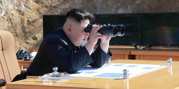 Imagen sin fechar del líder de Corea del Norte, Kim Jong Un.