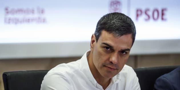 Pedro Sánchez, líder del PSOE e impulsor del federalismo como modelo territorial del partido.