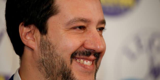 Imagen de archivo del vicepresidente italiano, Matteo Salivini.