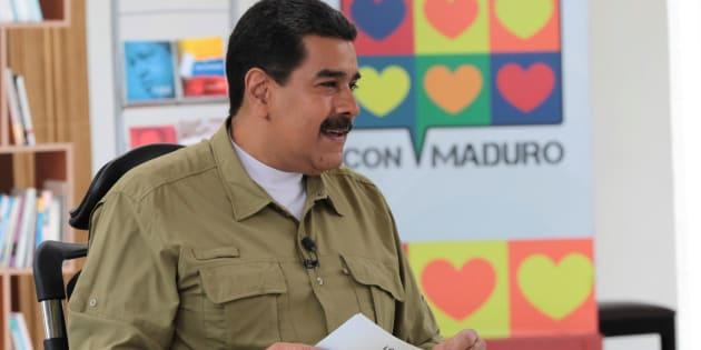 Imagen de archivo del presidente venezolano Nicolas Maduro.