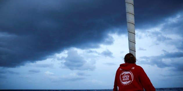 Una imagen de archivo de uno de los barcos de la ONG Proactiva Open Arms.