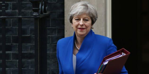 La primera ministra británica, Theresa May, el pasado miércoles.
