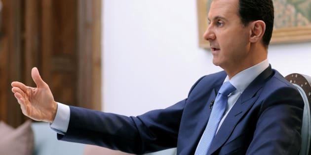 Le président syrien Bachar al-Assad.