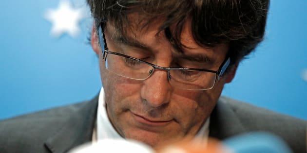 Carles Puigdemont renonce à briguer de nouveau la présidence catalane.