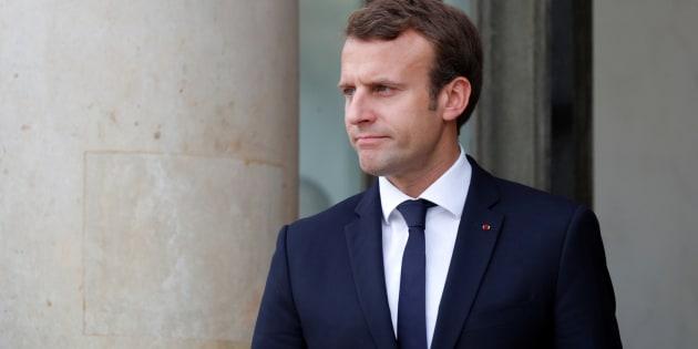 El presidente de Francia, Emmanuel Macron.