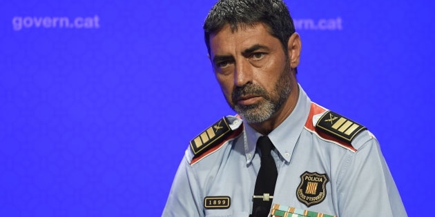 Josep Lluis Trapero, mayor de los Mossos d'Esquadra.