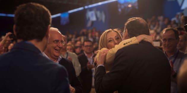 Cifuentes y Rajoy