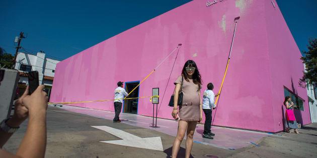 L'acte de vandalisme a augmenté l'affluence près du spot à Los Angeles.