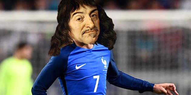 """""""Je pense donc je suis"""" aurait pu dire Antoine Descartes ou René Griezmann."""