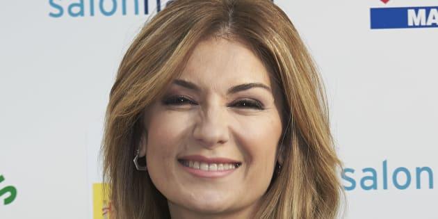 Sandra Golpe, presentadora de informativos de Antena3.