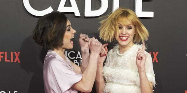 Nadia de Santiago y  Maggie Civantos, de 'Las Chicas del Cable'