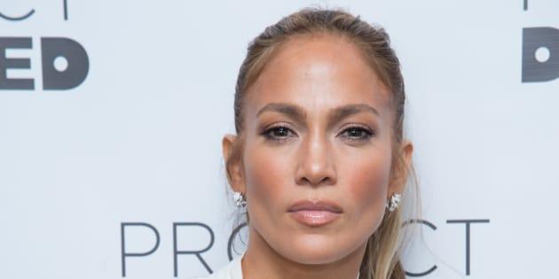 Jennifer Lopez, en Nueva York el 4 de marzo de 2018.