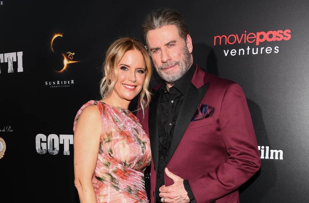 kelly preston reveals the advice she and john travolta