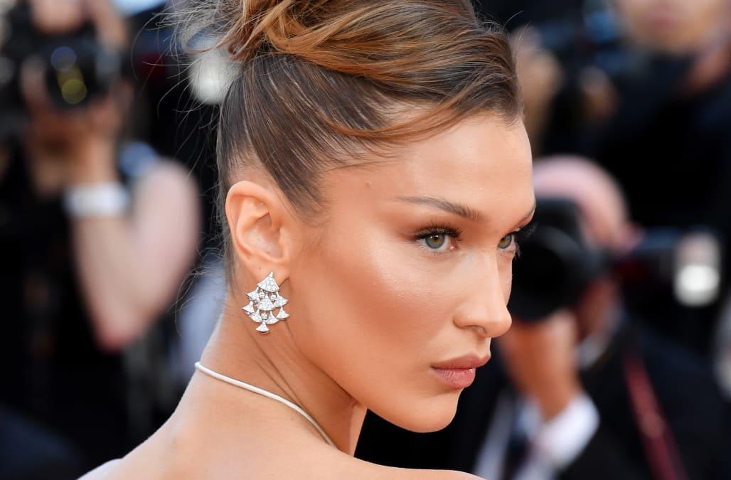 Cannes 2019 Bella Hadid Is Sheer Elegance At Rocketman