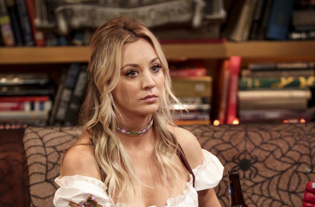 Big Bang Theory Tv Show Porn - Kaley Cuoco gets 'waves of depression' over 'The Big Bang ...
