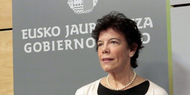 Imagen de archivo (05/12/2012), de la exconsejera de Educación del Gobierno Vasco con Patxi López, Isabel Celaá.