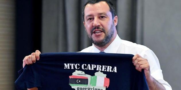 El ministro del Interior italiano y líder de la ultraderechista Liga, Matteo Salvini.