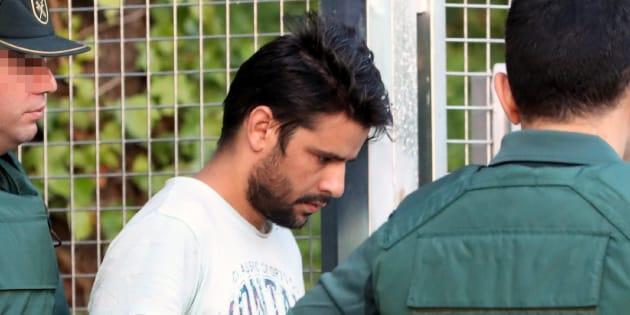 Salah El Karib, uno de los cuatro detenidos en relación con los atentados de Barcelona y Cambrils (Tarragona).
