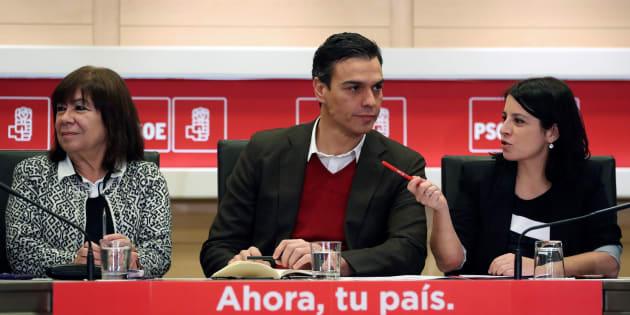 Narbona, Sánchez y Lastra