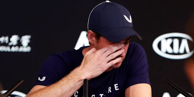 Andy Murray durante la rueda de prensa previo al Abierto de Australia.