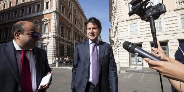 El jurista Giuseppe Conte, este jueves.