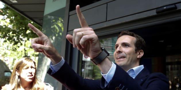 El vicesecretario de Comunicación del Partido Popular, Pablo Casado.