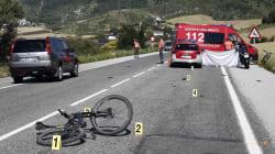 Un ciclista muere atropellado en Erice de Iza