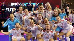 La selección de fútbol sala femenino hace historia al ganar la Copa de