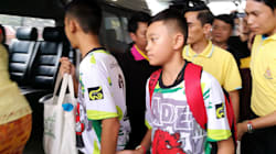 Los chicos tailandeses cavaron en busca de una salida de la