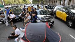 Los taxistas de Barcelona, a Fomento: