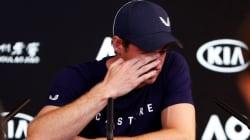 Las lágrimas de Murray al anunciar que se