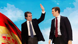 Aznar vuelve por todo lo alto: pide el voto para Casado y abrir la