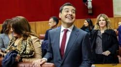 Moreno, nuevo presidente de Andalucía con los votos de PP, Cs y la