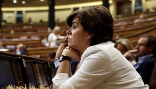 Soraya Sáenz de Santamaría: oposiciones para el