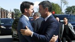 El detalle de la foto de Sánchez y Trudeau que hará que no puedas fijarte en otra