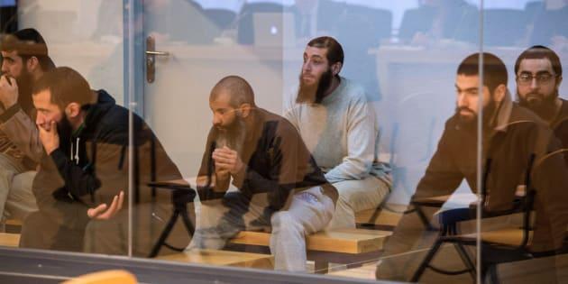 Los acusados de pertenecer a una célula yihadista.