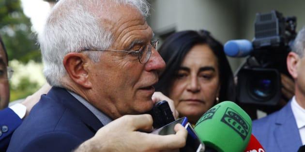 El ministro de Asuntos Exteriores Josep Borrell en una imagen de archivo.