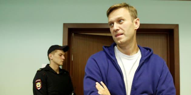 Imagen de archivo del opositor ruso Alexei Navalny.