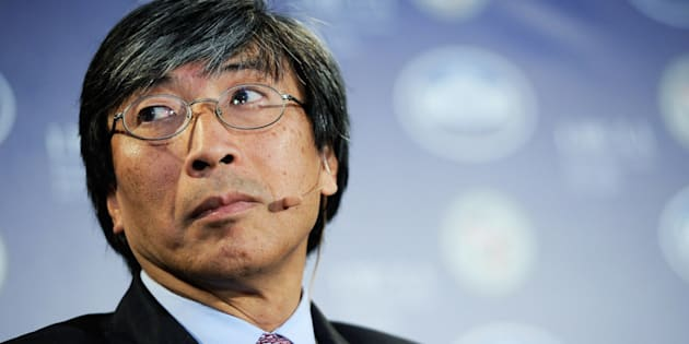CEO of Abraxis Health Institute Patrick Soon-Shiong. March 22, 2012, in Los Angeles, California.