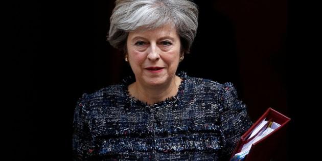 Imagen de archivo de la primera ministra británca, Theresa May.