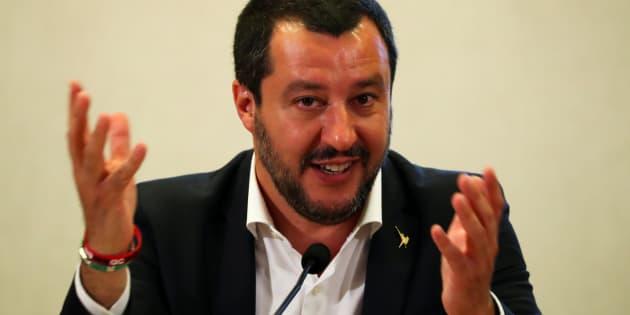 El primer ministro italiano, Matteo Salvini.