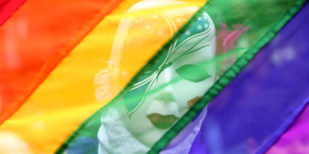 Manifestación del Orgullo en la India.