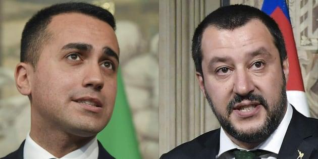 Di Maio y Salvini.