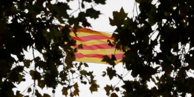 Imagen de archivo de la bandera de Cataluña.