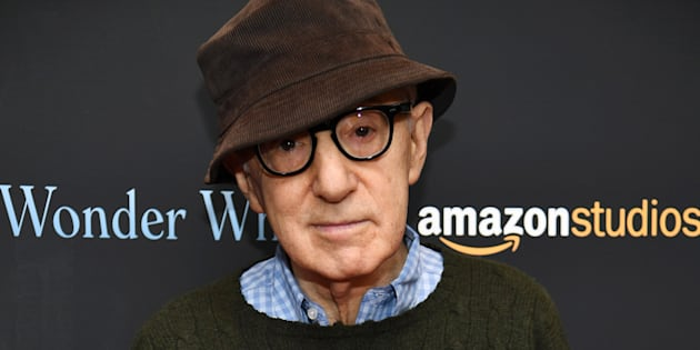 Woody Allen à New York le 14 novembre 2017.